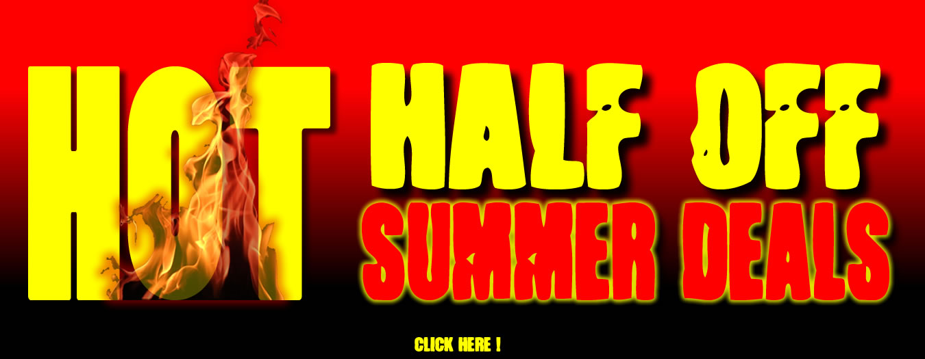 Half Off Summer Deals